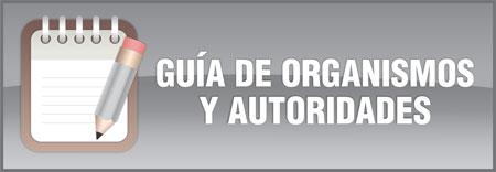 Guía de organismos y autoridades
