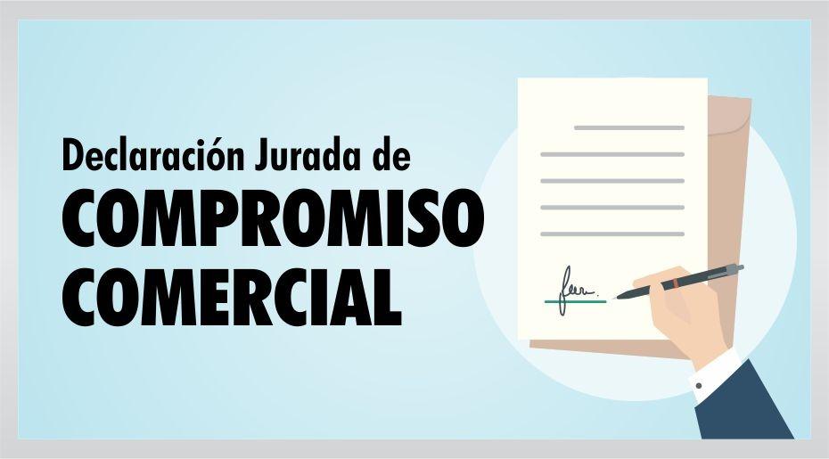 Declaración Jurada de Compromiso Comercial