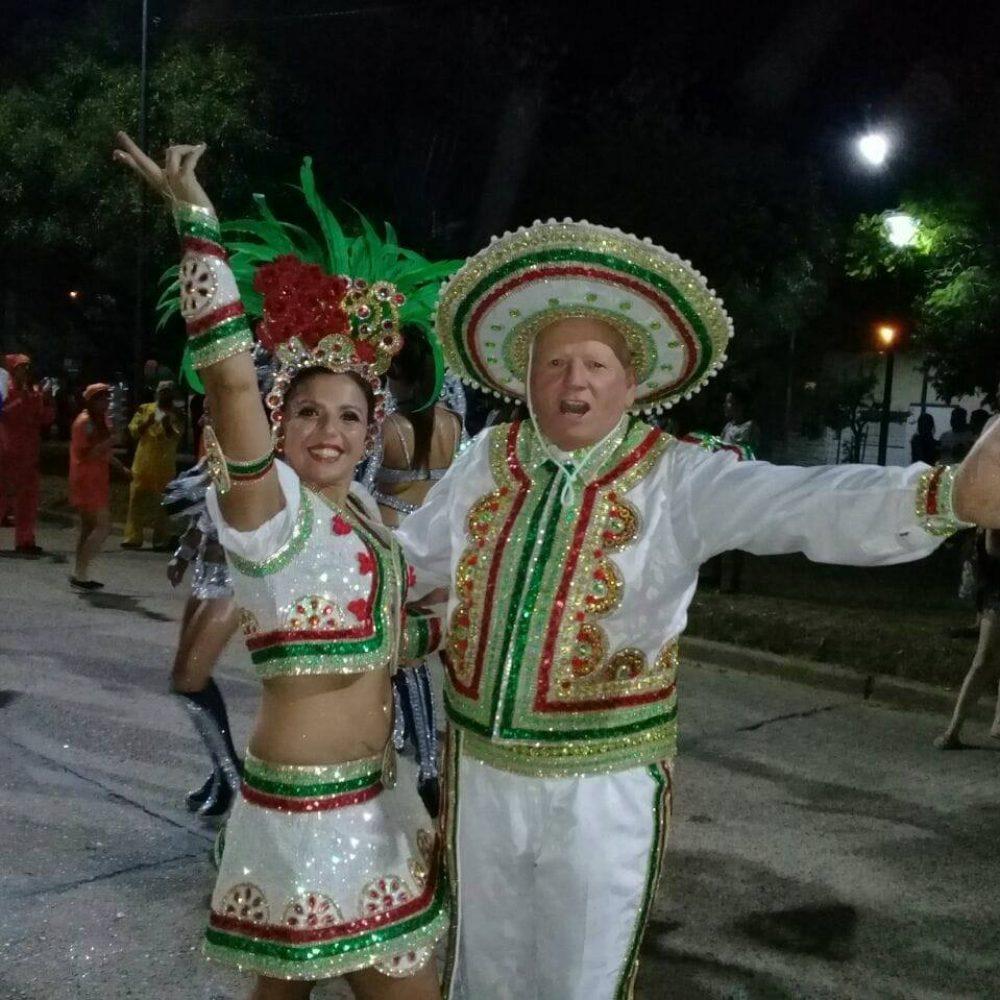 """Norberto Confalonieri fue reconocido como """"espíritu del Carnaval"""" chajariense"""