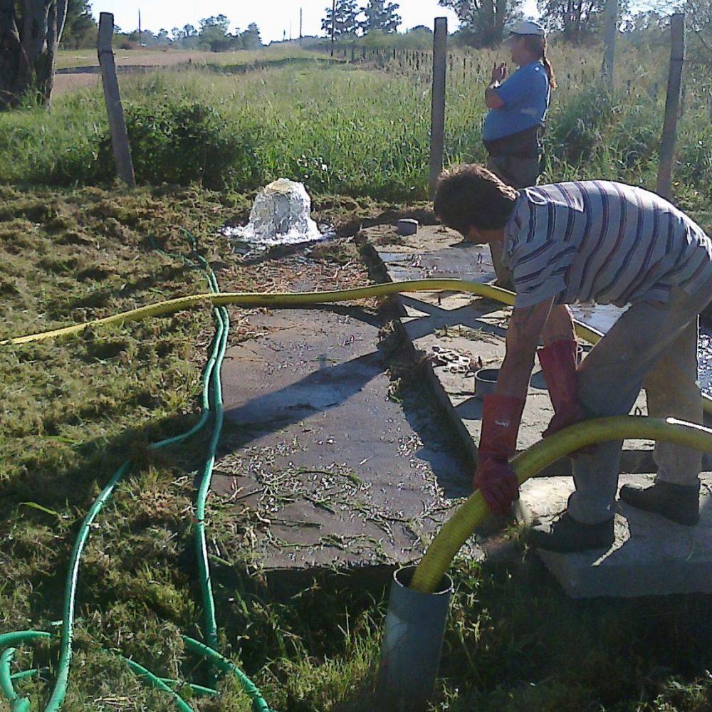 El municipio certificó la potabilidad del agua de barrio Sacachispas