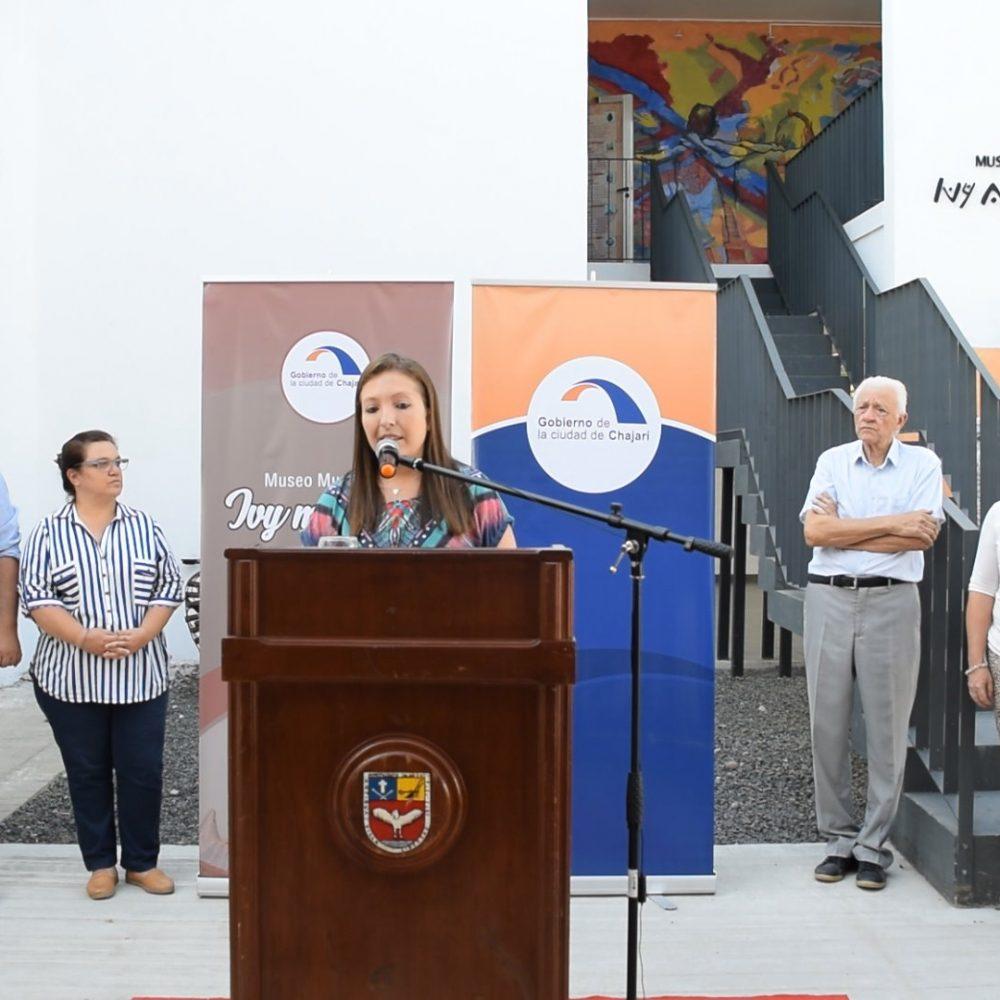 """""""Este museo no es de una persona ni de una gestión, sino que es de todos"""", expresó Fabiola Fochesatto Brunini"""