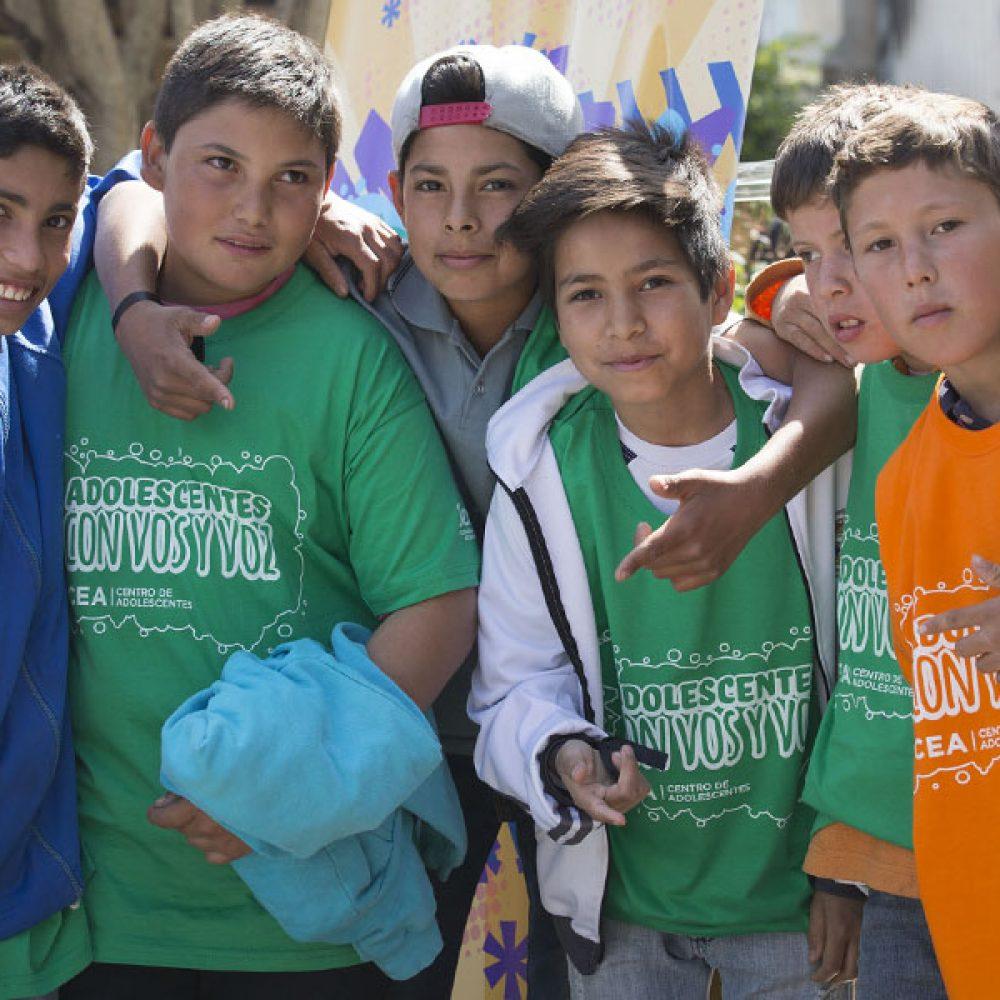 Autoridades de la Secretaría Nacional de la Niñez, Adolescencia y Familia estuvieron este jueves en Chajarí
