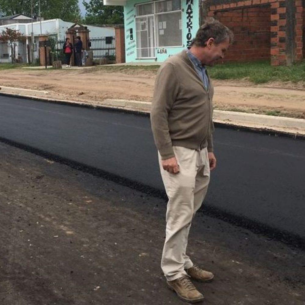 El Gobierno de Chajarí proyecta asfaltar calles del Barrio Vélez