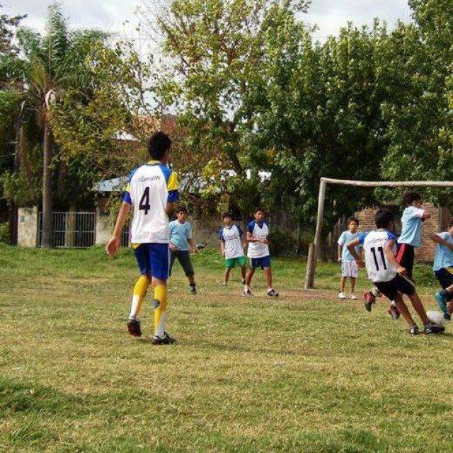 Encuentro barrial de Deportes