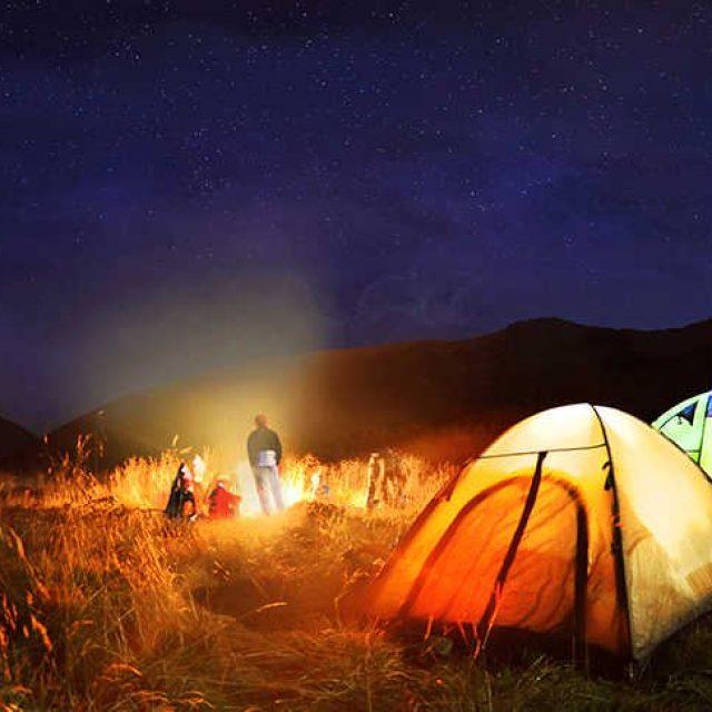 Curso de Campamento y Recreación