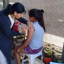 Construyamos Salud en Barrio Eva Perón